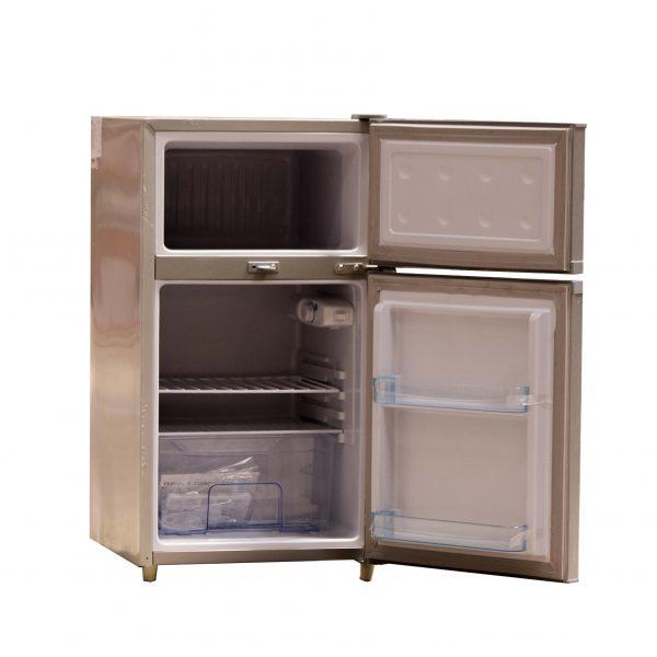 Mini double door refrigerator