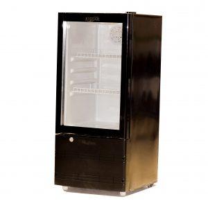 Glass door display fridges