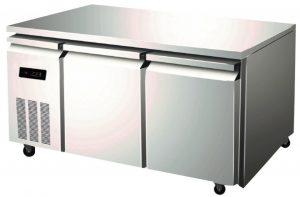 Stainless Steel Undercounter Freezer Fridge